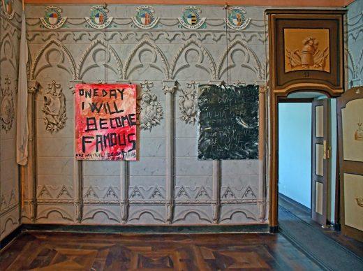 Via del Sale 2018, un'opera di Gianni Colosimo. Foto di Daniele Fazzone