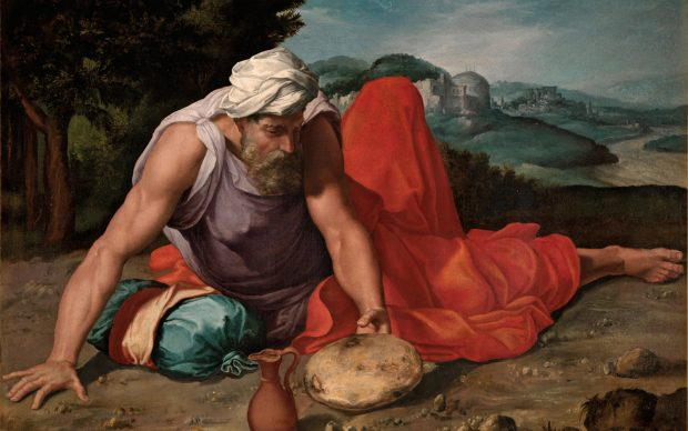 Daniele-da-Volterra-Elia-nel-deserto-1543-1547