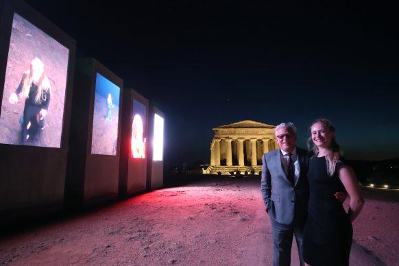 Jan Fabre ad Agrigento. Foto PETYX PALERMO