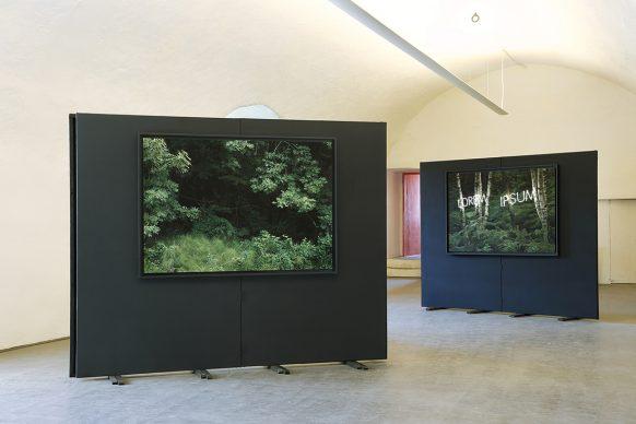 Via del Sale 2018, due fotografie di Gioberto Noro (alias Sergio Gioberto e Marilena Noro). Foto di Daniele Fazzone