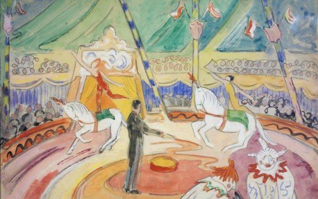Jellett-circus-National Gallery Ireland Dublino