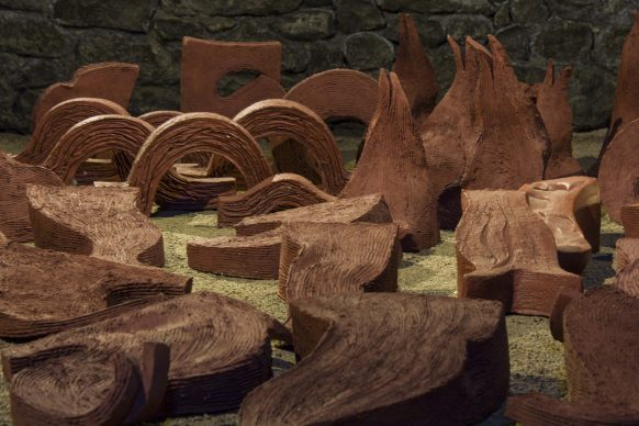 VULCI MON AMOUR. Frammenti di Paesaggio – Frammenti di Sottosuolo. Un'opera di Lucilla Catania- ph. Elena Fabretti