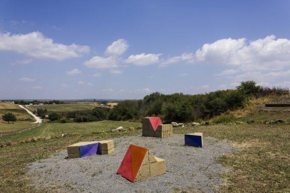 VULCI MON AMOUR. Frammenti di Paesaggio – Frammenti di Sottosuolo. Un'opera di Mara van Wees - ph. Elena Fabretti