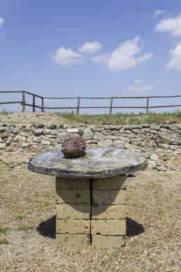 VULCI MON AMOUR. Frammenti di Paesaggio – Frammenti di Sottosuolo. Un'opera di Massimo Luccioli - ph. Elena Fabretti