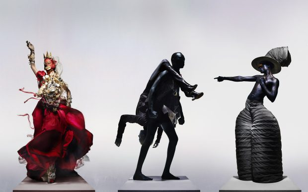Maison Margiela Artisanal by John Galliano, Rick Owens, Mazhar & Edwin Mohney, 'The Knights of Knightsbridge'. Credit Nick Knight, Courtesy of The Knightsbridge Estate
