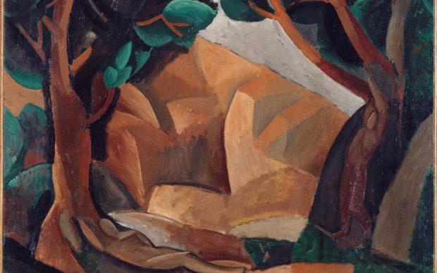 Picasso, 1908, Paysage aux deux figures (Landscape with Two Figures