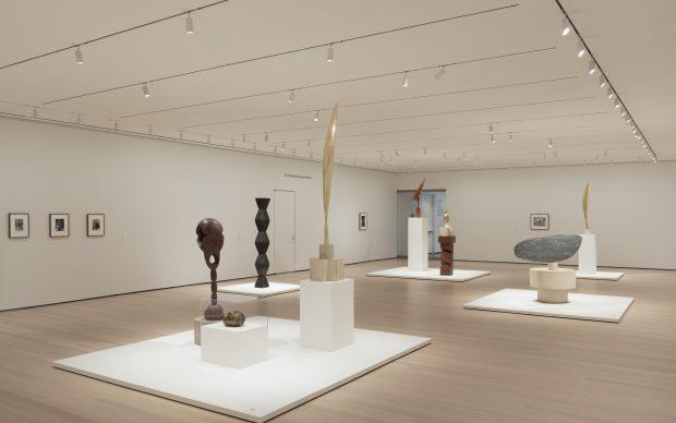 Constantin Brancusi Sculpture, veduta della mostra al MoMA - Museum of Modern Art di New York, 22 luglio 2018 - 19 febbraio 2019