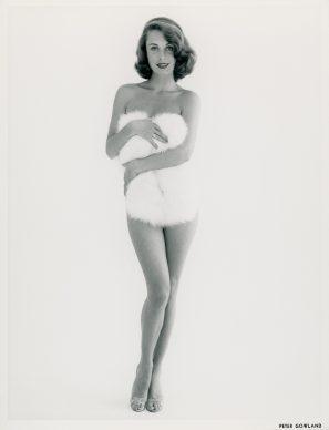 Rosemarie Bowe, silver gelatine print,  1955 © Peter  Gowland