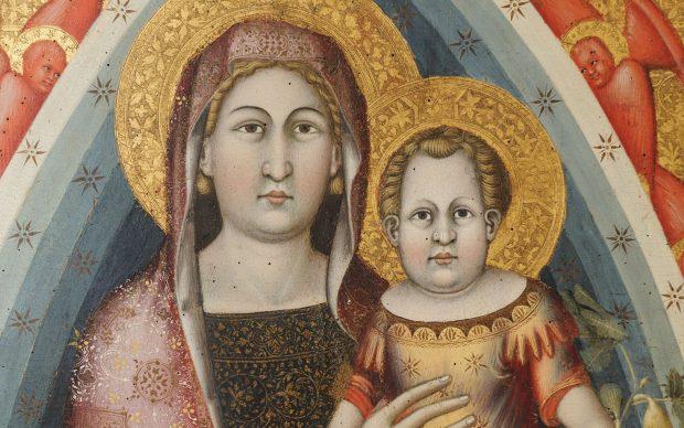 Mello da Gubbio Pala di Agnano (particolare) Gubbio, Museo Diocesano