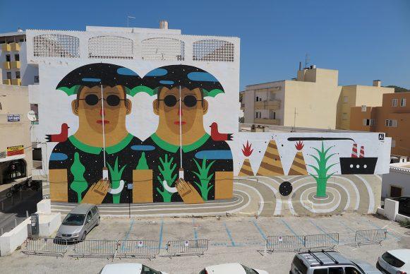 Agostino Iacurci, BLOOP International Proactive Art Festival 2014, Ibiza