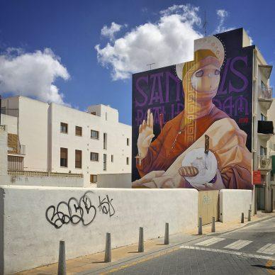 Marc Colomines, Inti, BLOOP International Proactive Art Festival 2014, Ibiza