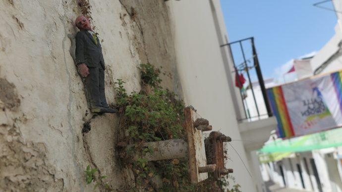 Isaac Cordal, MULTIVERSE, BLOOP International Proactive Art Festival 2015, Ibiza