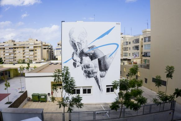Ino, CHANGES, BLOOP International Proactive Art Festival 2017, Ibiza (image courtesy Artist & BLOOP Festival)