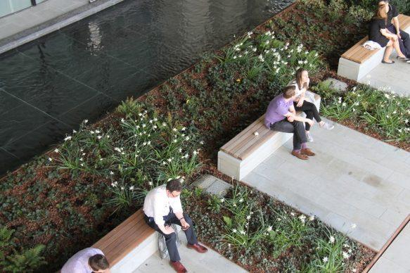 Make Architects, London Wall Place - Londra. Photo credit: Spacehub Design