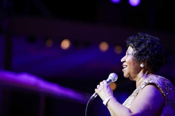 Aretha Franklin at the American Portrait Gala. Courtesy Angela Pham BFA