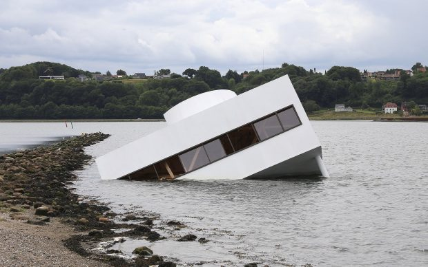 Asmund Havsteen-Mikkelsen's FLOODED MODERNITY, 2018