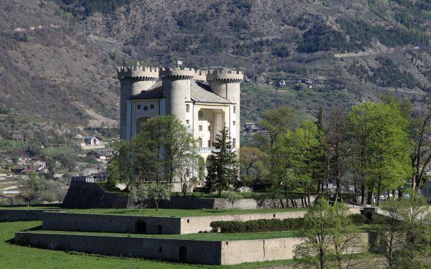 Castello di Aymavilles (foto Enrico Romanzi)