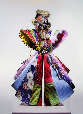 Dior Couture by John Galliano, 'The Knights of Knightsbridge'. Credit Nick Knight, Courtesy of The Knightsbridge Estate