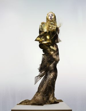 Dior Couture by John Galliano, 'The Knights of Knightsbridge'. Credit Nick Knight, Courtesy of The Knightsbridge Estate.