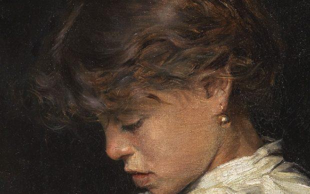 Elia Volpi, Ritratto di fanciulla