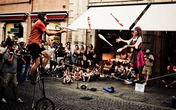 Ferrara Buskers Festival 2011, photo by paPisc, fonte Flickr