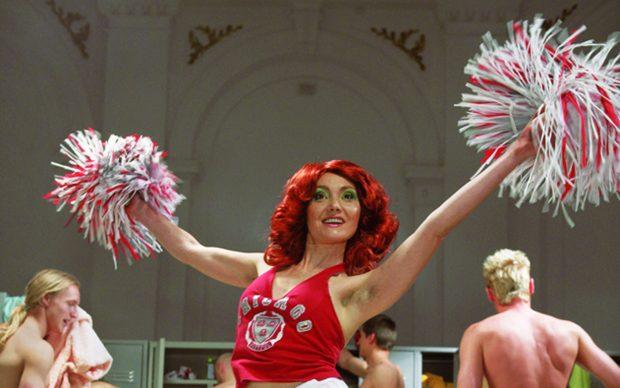 Katarzyna Kozyra, Cheerleader, 2006 © Katarzyna Kozyra. Courtesy: ZAK   BRANICKA Photo: Marcin Oliva Soto