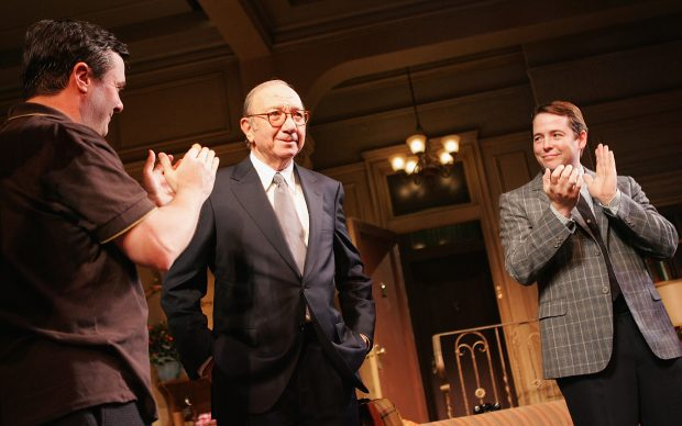 """Opening Night Of """"The Odd Couple"""" - Curtain Call"""