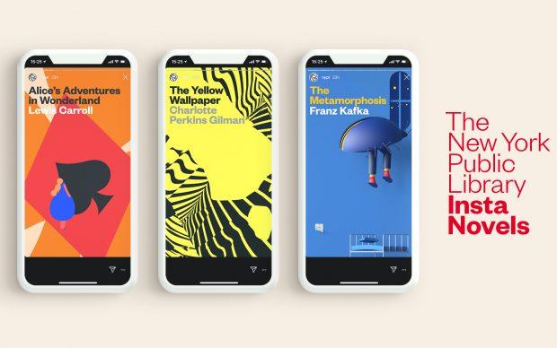 New York Public Library Insta Novels Instagram classici letteratura