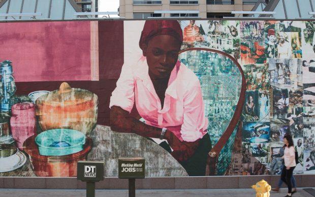Njideka Akunyili Crosby Moca Los Angeles murale street art