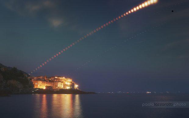 Paolo Lazzarotti Astronomy Picture of The Day eclissi lunare golfo dei poeti