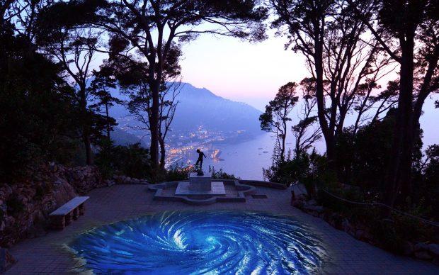 Villa Lysis Viaggio al centro della Terra video installazione