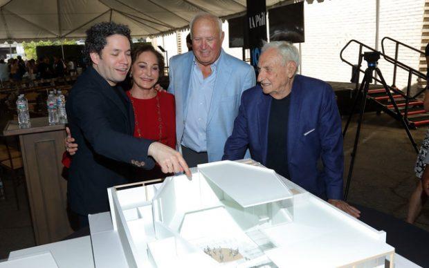 Yola Los Angeles progetto sede Frank Gehry 2