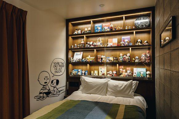 Peanuts Hotel, Kobe © 2018 Peanuts Worldwide LLC
