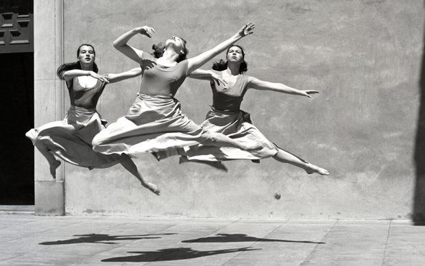 Imogen Cunningham, Three Dancers, Mills College, 1932