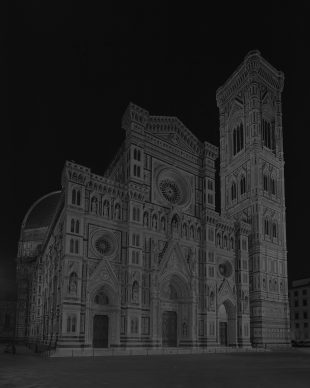 © HIROSHI SUGIMOTO, Duomo, Florence, from Gates of Paradise series, 2017. Courtesy of Galleria Continua (San Gimignano, Beijing, Les Moulins, Habana)