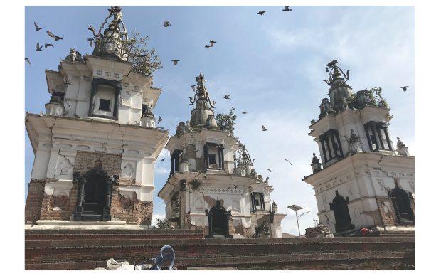 Kathmandu Nepal recupero restauro siti UNESCO dopo il terremoto del 2015 con Università IUAV Venezia