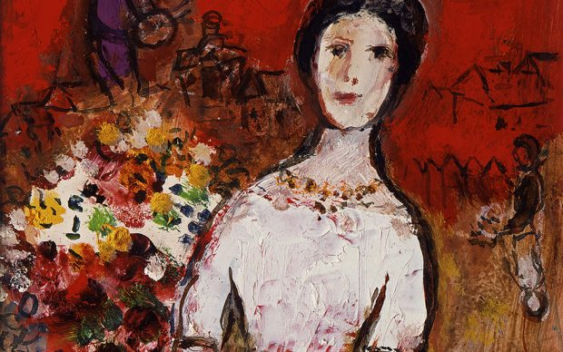 Marc Chagall, Portrait de Vava , 1953-56. Private Collection, Swiss © Chagall®, by SIAE 2018