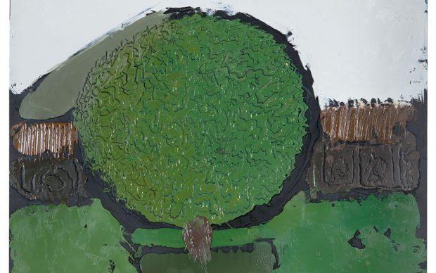 William G. Congdon. FICO 3. 10 ottobre 1993. Olio su pannello. 50 x 60 cm.Collezione Carlo Rapetti