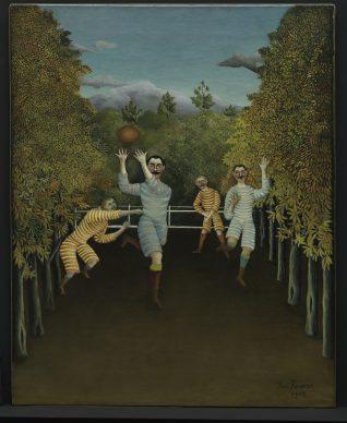 Henri Rousseau, The Football Players (Les joueurs de football), 1908. Solomon R. Guggenheim Museum, New York 60.1583 Photo: © Solomon R. Guggenheim Foundation, New York (SRGF)