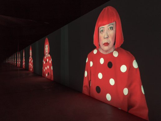 Yayoi Kusama, Ong of a Manhattan Suicide Addict, 2010-present. Image © Yayoi Kusama. Courtesy David Zwirner, New York; Ota Fine Arts, Tokyo/Singapore/Shanghai; Victoria Miro, London/Venice; YAYOI KUSAMA Inc.