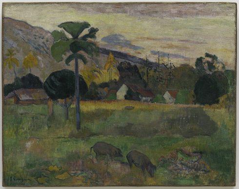 Paul Gauguin, Haere Mai, 1891. Solomon R. Guggenheim Museum, New York Thannhauser Collection, Gift, Justin K. Thannhauser 78.2514.16 Photo: © Solomon R. Guggenheim Foundation, New York (SRGF)