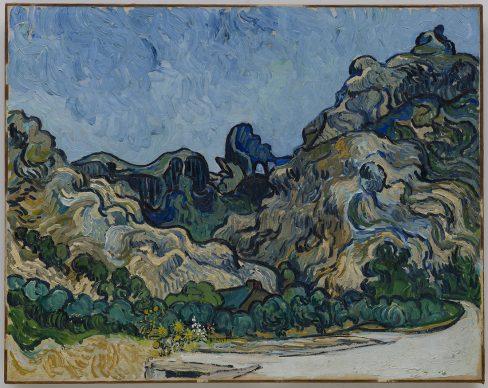 Vincent van Gogh, Mountains at Saint-Rémy (Montagnes à Saint-Rémy), Saint-Rémy-de-Provence, July 1889. Solomon R. Guggenheim Museum, New York Thannhauser Collection, Gift, Justin K. Thannhauser 78.2514.24 Photo: ©  Solomon R. Guggenheim Foundation, New York (SRGF)