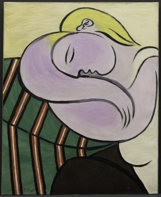 Pablo Picasso, Woman with Yellow Hair (Femme aux cheveux jaunes), December 27, 1931. Solomon R. Guggenheim Museum, New York Thannhauser Collection, Gift, Justin K. Thannhauser 78.2514.59 © Sucesión Pablo Picasso, VEGAP, Madrid, 2018 Photo: © Solomon R. Guggenheim Foundation, New York (SRGF)