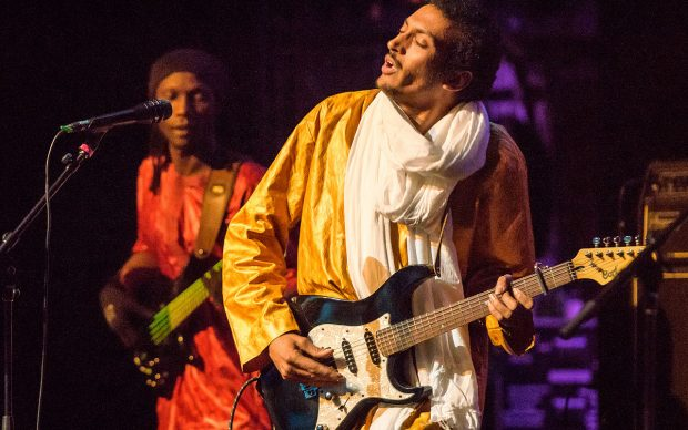 March 26, 2016 Apollo Theater New York, NY Concert presented by the World Music Institute. Bombino is from Niger. www.stevenpisano.photo