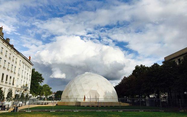 Biennale di Lione 2017. Richard Buckminster Fuller, Radome, 1957