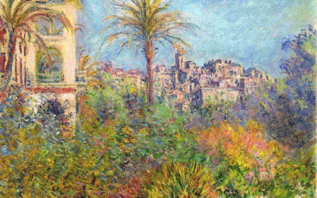 Claude Monet, Villas à Bordighera, 1884