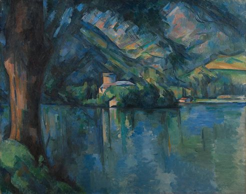 Paul Cézanne, Lac d'Annecy,1896 © The Samuel Courtauld Trust, The Courtauld Gallery, London