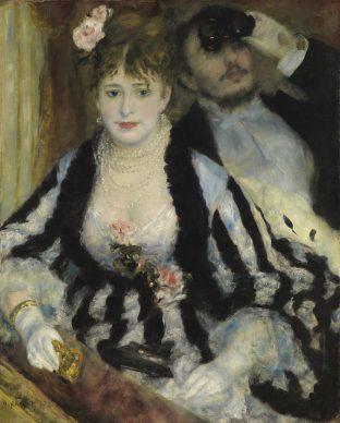 Pierre-Auguste Renoir, La Loge (Theatre Box), 1874 © The Samuel Courtauld Trust, The Courtauld Gallery, London
