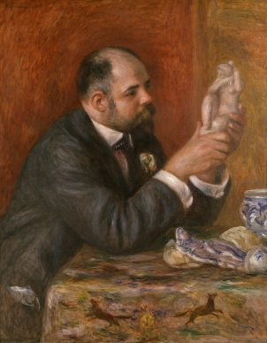 Pierre-Auguste Renoir, Portrait of Ambroise Vollard, 1908 © The Samuel Courtauld Trust, The Courtauld Gallery, London
