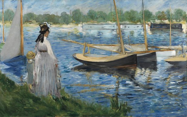 Edouard Manet, Banks of the Seine at Argenteuil, 1874. On long-term loan to The Courtauld Gallery from a private collection © The Samuel Courtauld Trust, The Courtauld Gallery, London